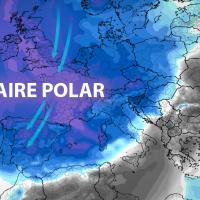 Una importante masa de aire polar llegará a España a partir de este miércoles