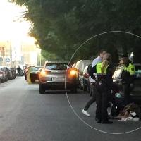 Asisten a una persona caída en el suelo en Pardaleras (Badajoz)