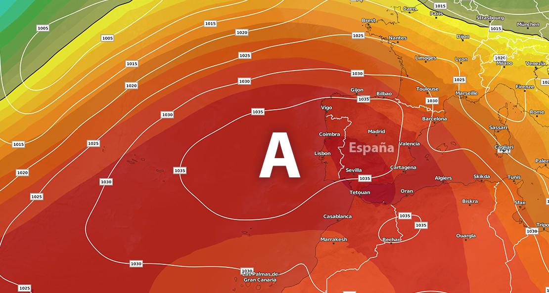 2018 comenzará con el regreso del anticiclón a gran parte de España ¿cuánto tiempo?