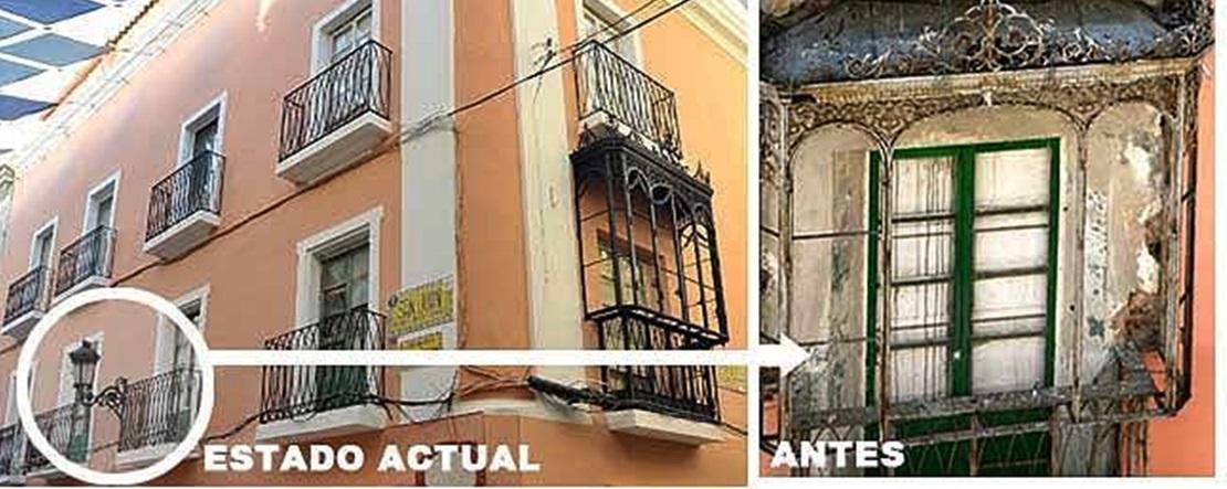 La Asociación Cívica de Badajoz sigue reclamando la vuelta del balcón