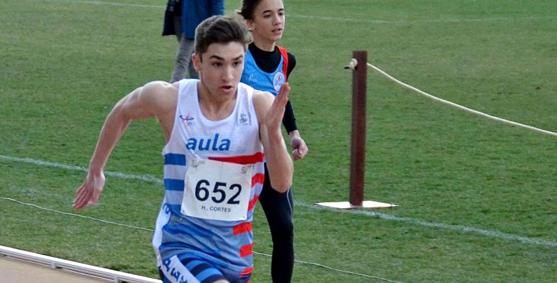 El extremeño Hernán Cortés consigue la mínima para el nacional de Atletismo Sub-18