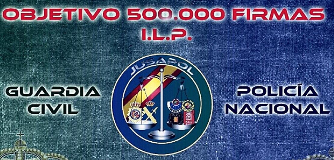 JUSAPOL: Objetivo 500.000 firmas en Badajoz