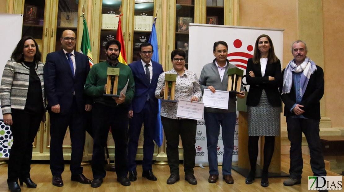 Entrega de premios Cata-Concurso de aceites de oliva en la Diputación