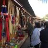 Infinidad de productos se exponen en el mercado navideño de Mérida