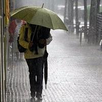 Extremadura en alerta naranja y amarilla por fuertes vientos y lluvias