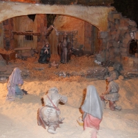 Más de 240 figuras componen el Belén de Mérida