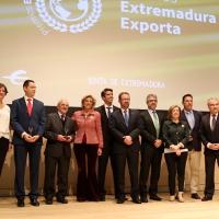 Entregados los premios Extremadura Exporta