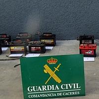 Operación contra los robos en explotaciones agrícolas y ganaderas