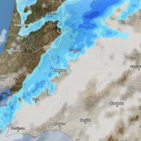 El último frente del año amenaza la Nochevieja ¿Lloverá finalmente en Extremadura?