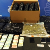 Tres detenidos en Cáceres por enviar marihuana a través de empresas de mensajería