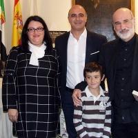 Fernando Aramburu recoge el Premio 'Dulce Chacón' por su novela 'Patria'