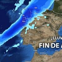 Un frente podría alcanzar la península justo en Nochevieja, ¿donde llovería?