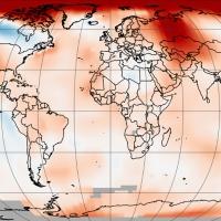La Tierra registró su tercer noviembre más cálido en 137 años de registro