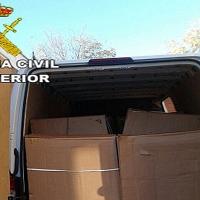 Operación contra el mercado clandestino de tabaco en rama en Extremadura