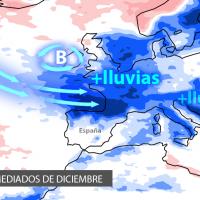 ¿Qué indican las previsiones para este mes de diciembre?