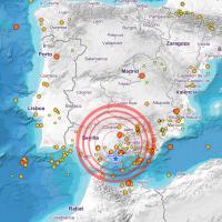 Dos terremotos sacuden las provincias de Córdoba y Málaga
