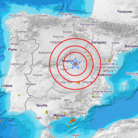 Terremoto de casi 4 grados en el centro de la península ¿lo has sentido?