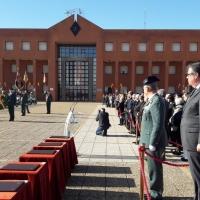Entrega de diplomas en la Escuela de Tráfico de Mérida