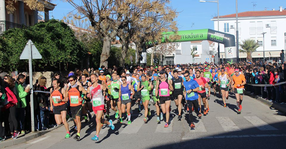 Romero y Centeno triunfan en la VII Media Maratón Los Barruecos