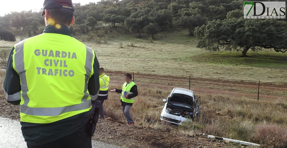 Accidente de tráfico en Zafra con atrapados