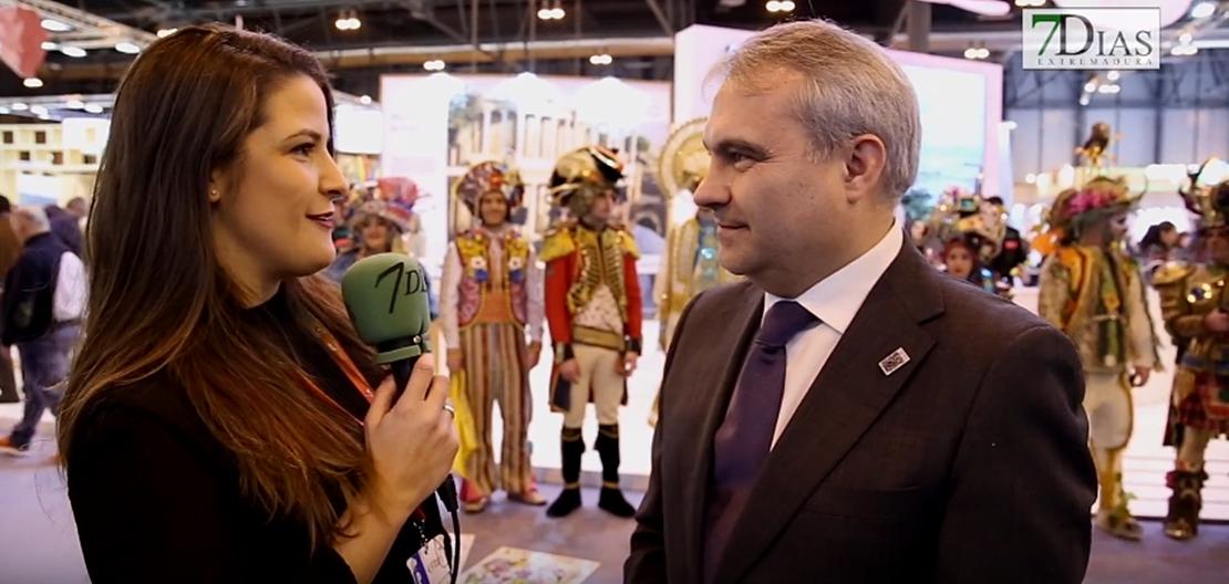Badajoz presenta su Carnaval al mundo en FITUR