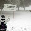 El sur de la provincia de Badajoz se tiñe de blanco