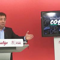 PSOE inicia la campaña #ExtremaduraContigo para conocer los problemas de los extremeños