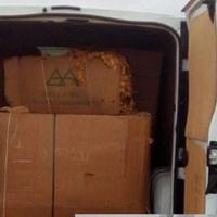 Interceptado un vehículo con 730 kilos de tabaco ilegal