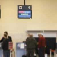 Sale a licitación la publicidad de la línea aérea desde Badajoz