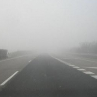 La niebla y la nieve dificultan o impiden la circulación por Extremadura