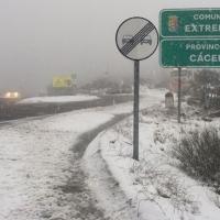 Alerta amarilla por nevadas en el norte de Cáceres
