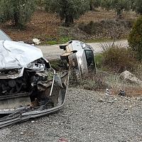 Accidente de tráfico en Almendral (Badajoz)