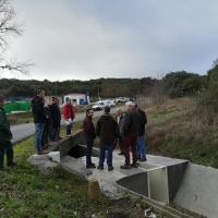 Las obras en los regadíos de Piedra Aguda reducirán la pérdida de agua