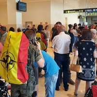 La Brigada Extremadura inicia el regreso desde Letonia