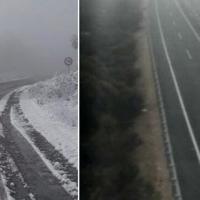 La niebla y la nieve dificultan el tráfico en las carreteras extremeñas
