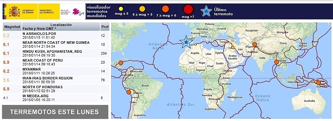"""Víctor Martín (IGN): """"El terremoto ha tenido una magnitud de 5.2º"""""""