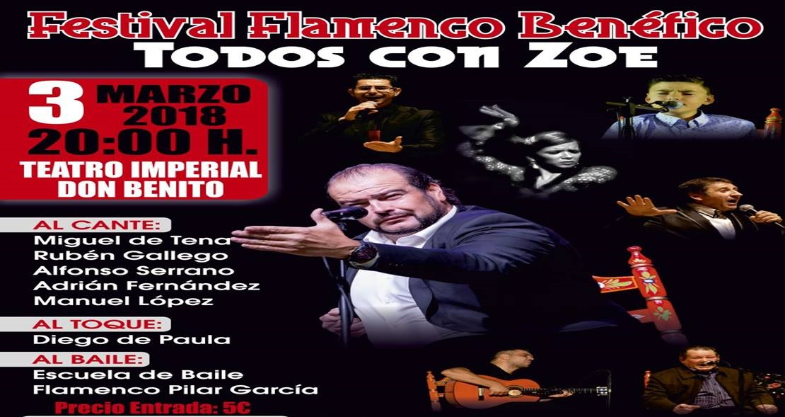 Un festival flamenco en Don Benito recaudará fondos para la pequeña Zoe