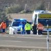 Varios heridos en un accidente en la Nacional-432 (Badajoz)
