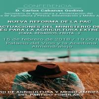 Una conferencia sobre la nueva reforma de la PAC en Almendralejo