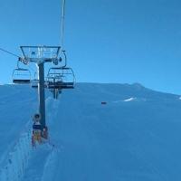 Metro y medio de nieve para disfrutar de La Covatilla