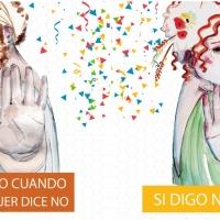 La campaña contra las agresiones sexistas también está presente en Carnaval