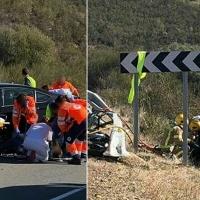Un muerto y 5 heridos en un trágico accidente en Extremadura