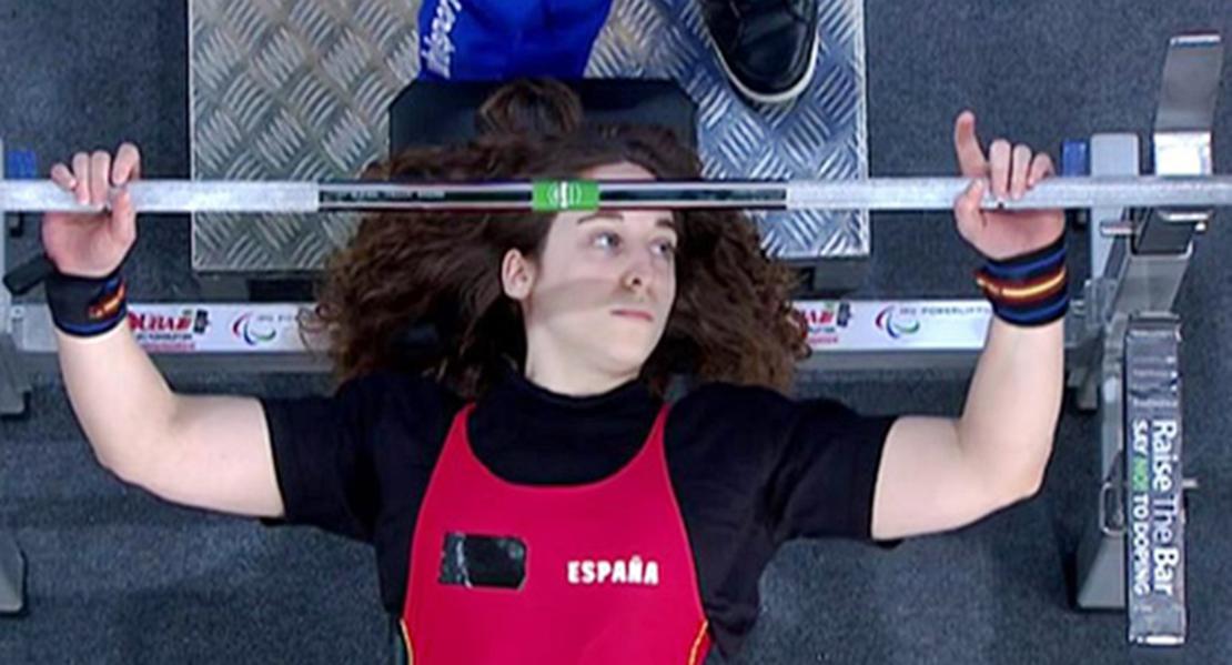 La extremeña Loida Zabala revalida su título de campeona de España de Powerlifting