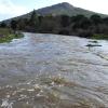 Así bajan los ríos en las comarcas de Sierra de San Pedro, Alcántara y Los Baldíos