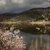 Toda la lluvia de marzo en el Tajo no llenaría el embalse de Alcántara