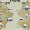 Previsión fin de semana: Sábado muy lluvioso en la provincia de Badajoz