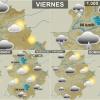 La ciclogénesis explosiva Hugo afectará a Extremadura este fin de semana