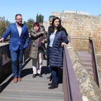 Inversión de 64.000 euros para adecuar el paseo de la Alcazaba