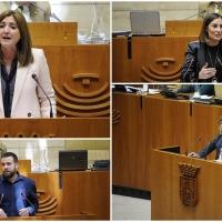 """La oposición exige a la Junta un servicio de transporte escolar """"digno"""""""