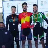 El extremeño Rubén Tanco se cuelga el bronce en el Campeonato de España de Pista